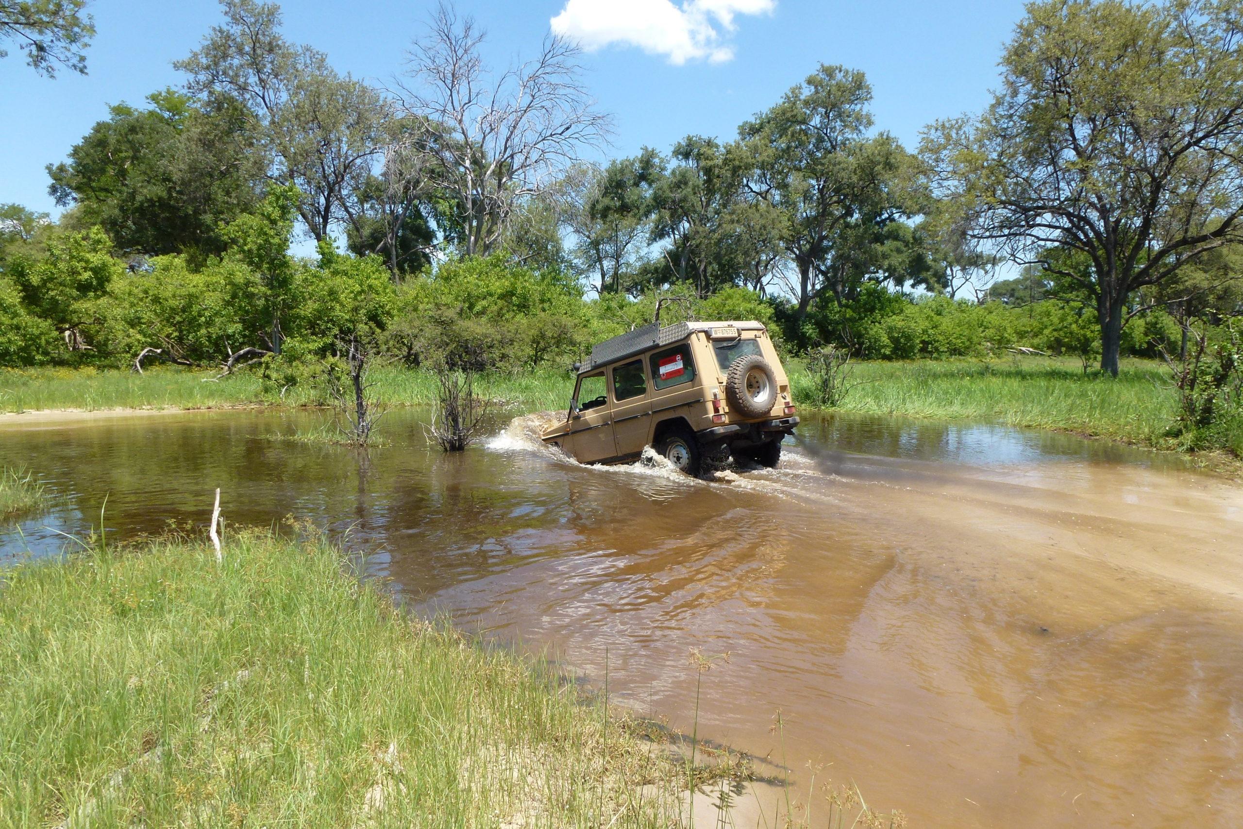 4x4 Abenteuerreise: Baden in Afrika 1