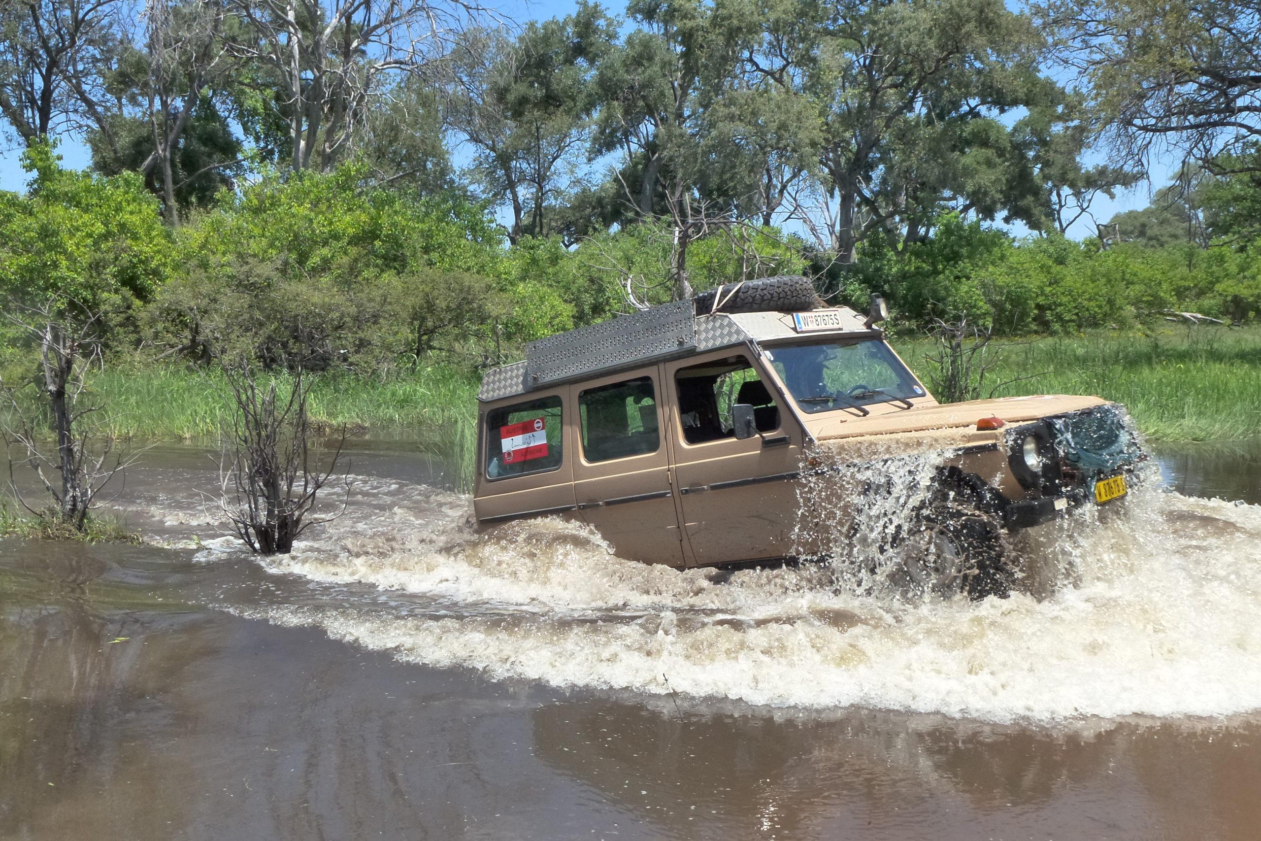 4x4 Abenteuerreise: Baden in Afrika 2