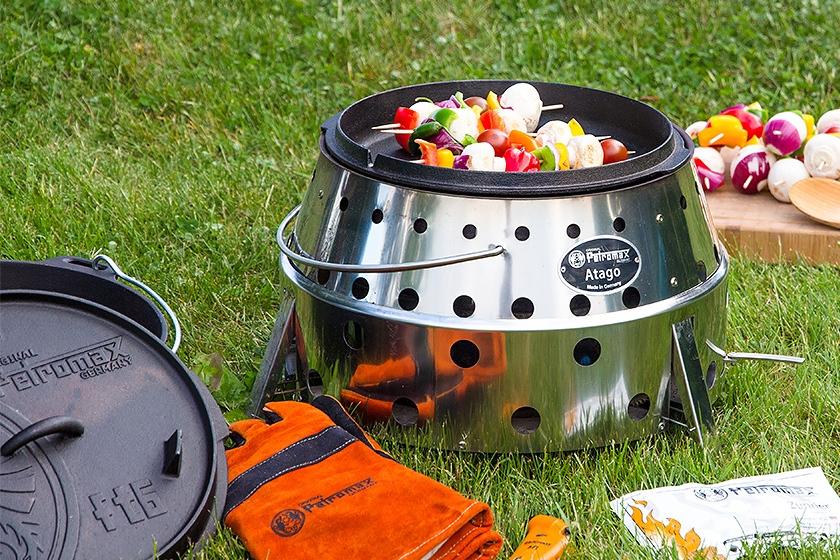 Outdoorküche: Kochen unabhängig von Strom - Gas - Benzin 3