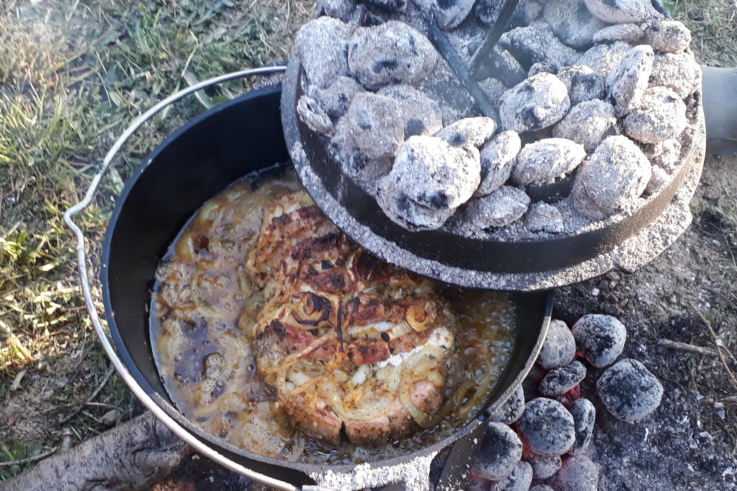 Outdoorküche: Kochen unabhängig von Strom - Gas - Benzin 7