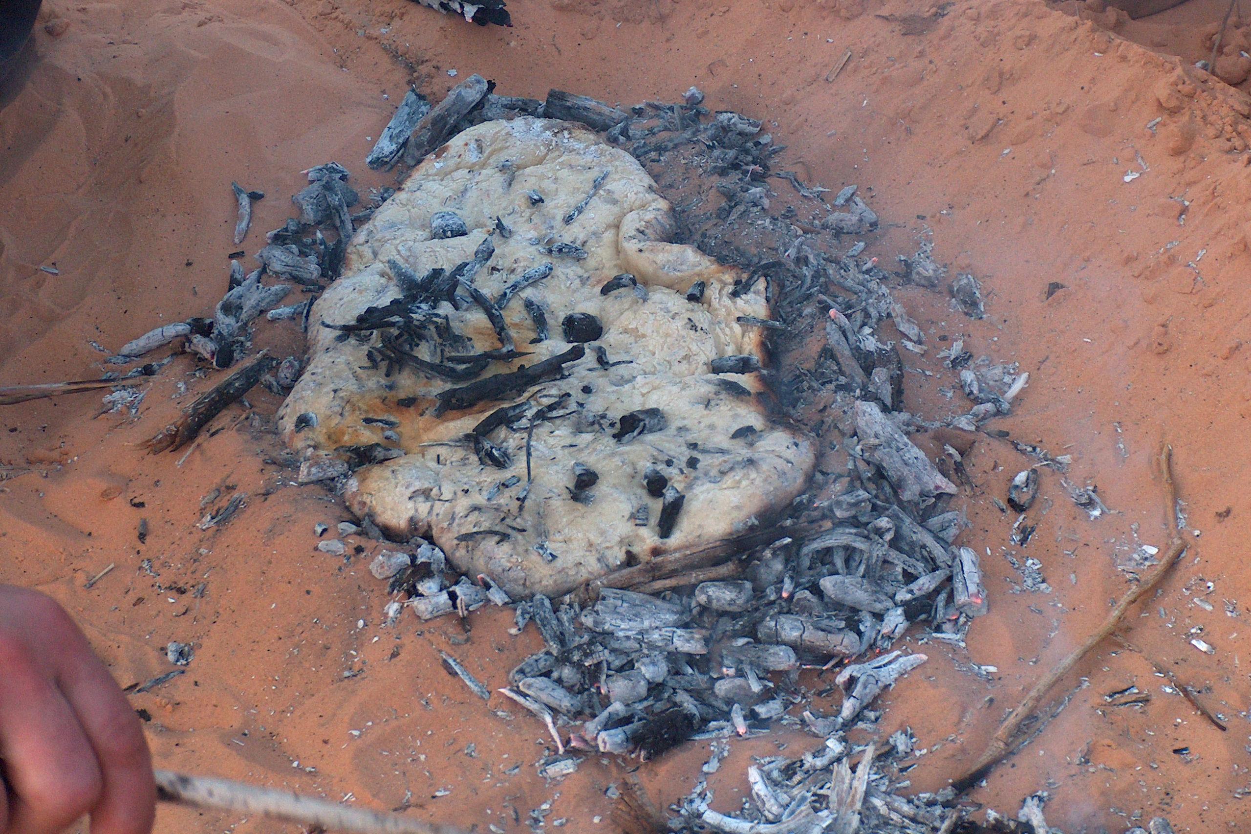 Brot backen Wüste