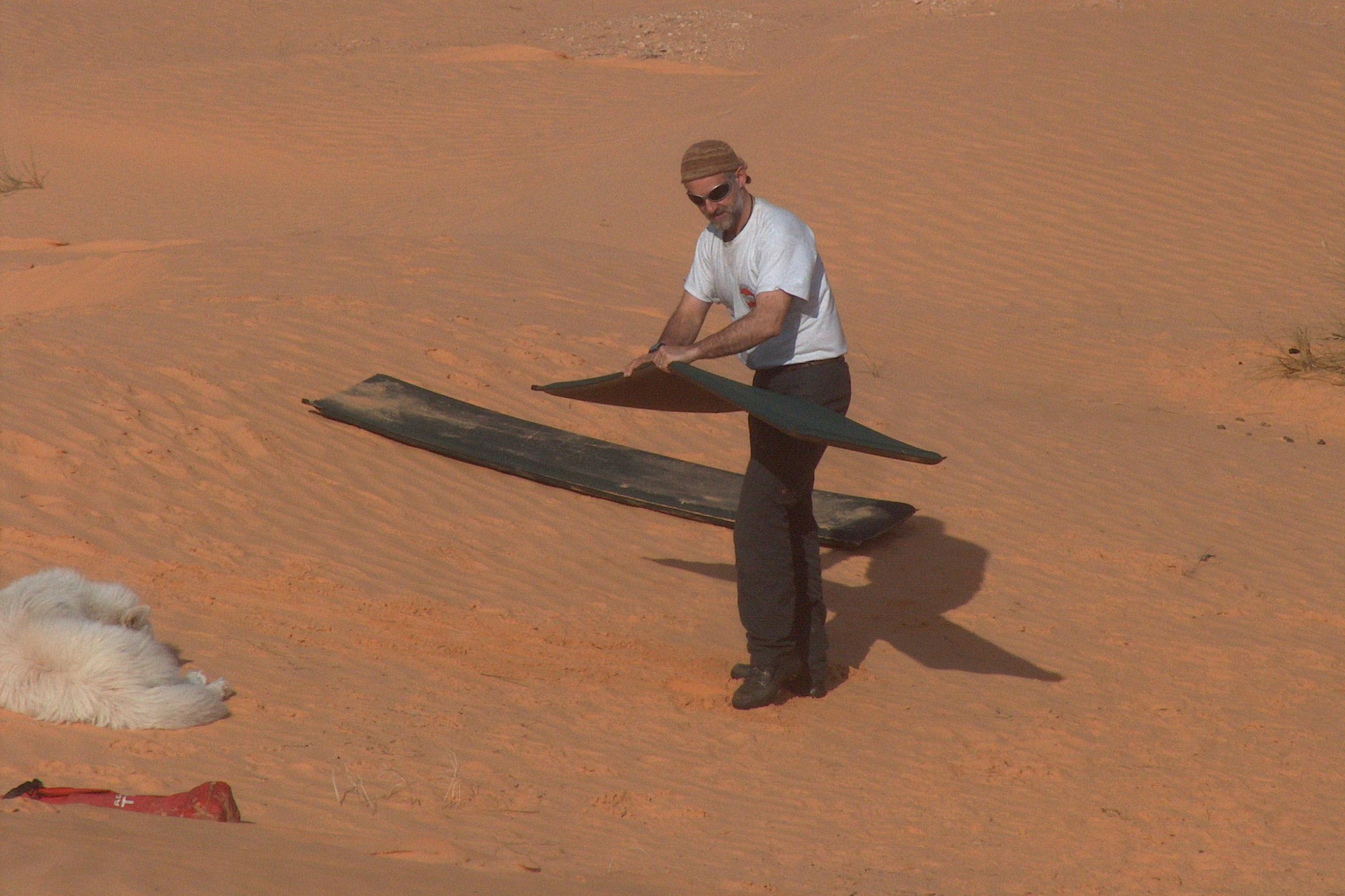 Wüste Unterlagsmatte