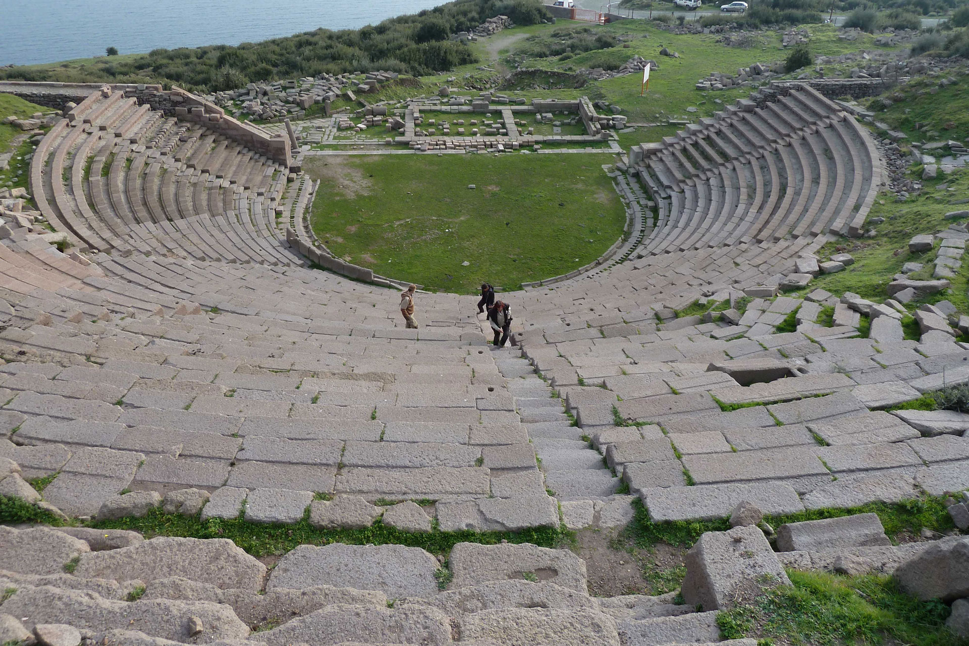 Theater in Assos Türkei