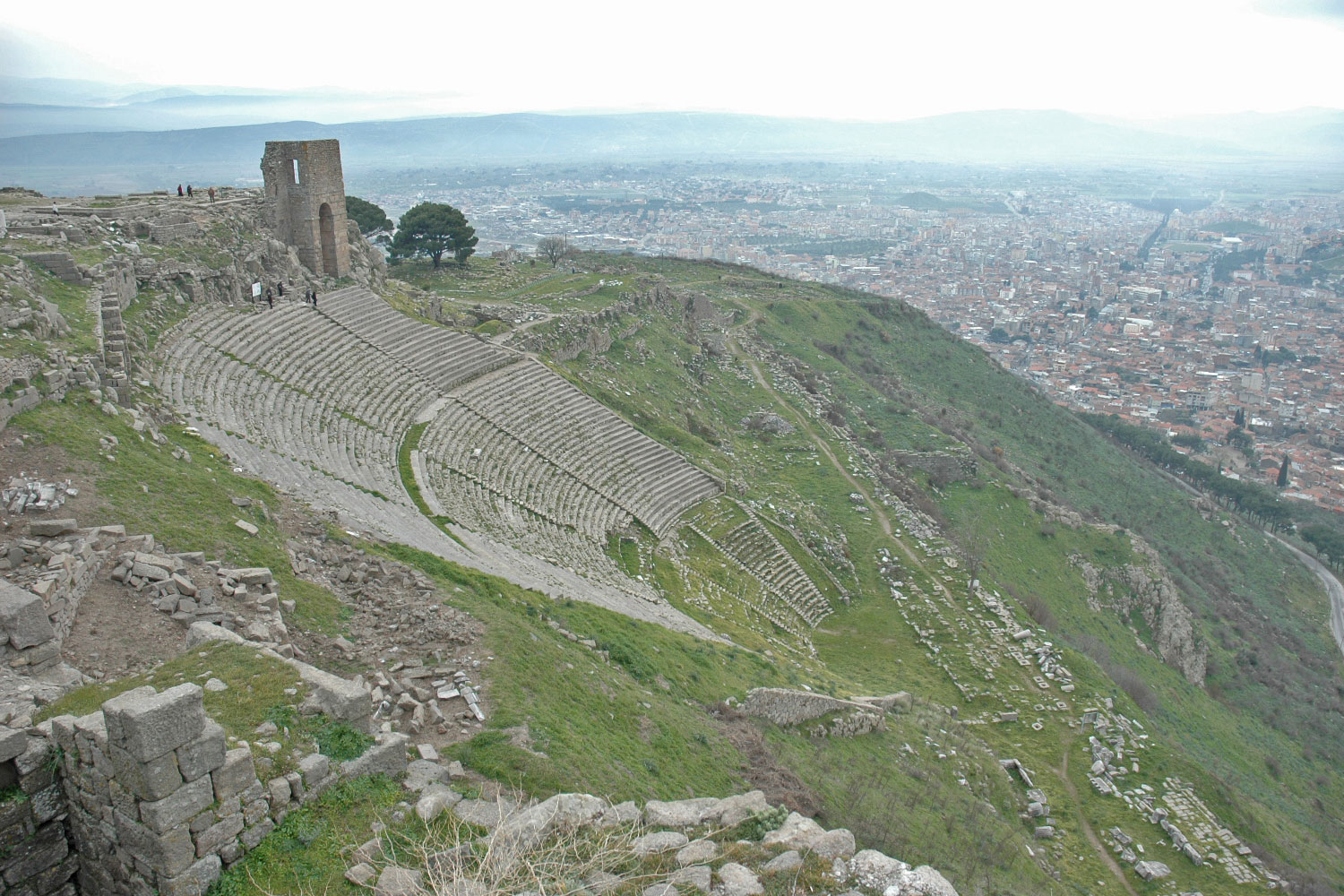 Theater Pergamon Türkei