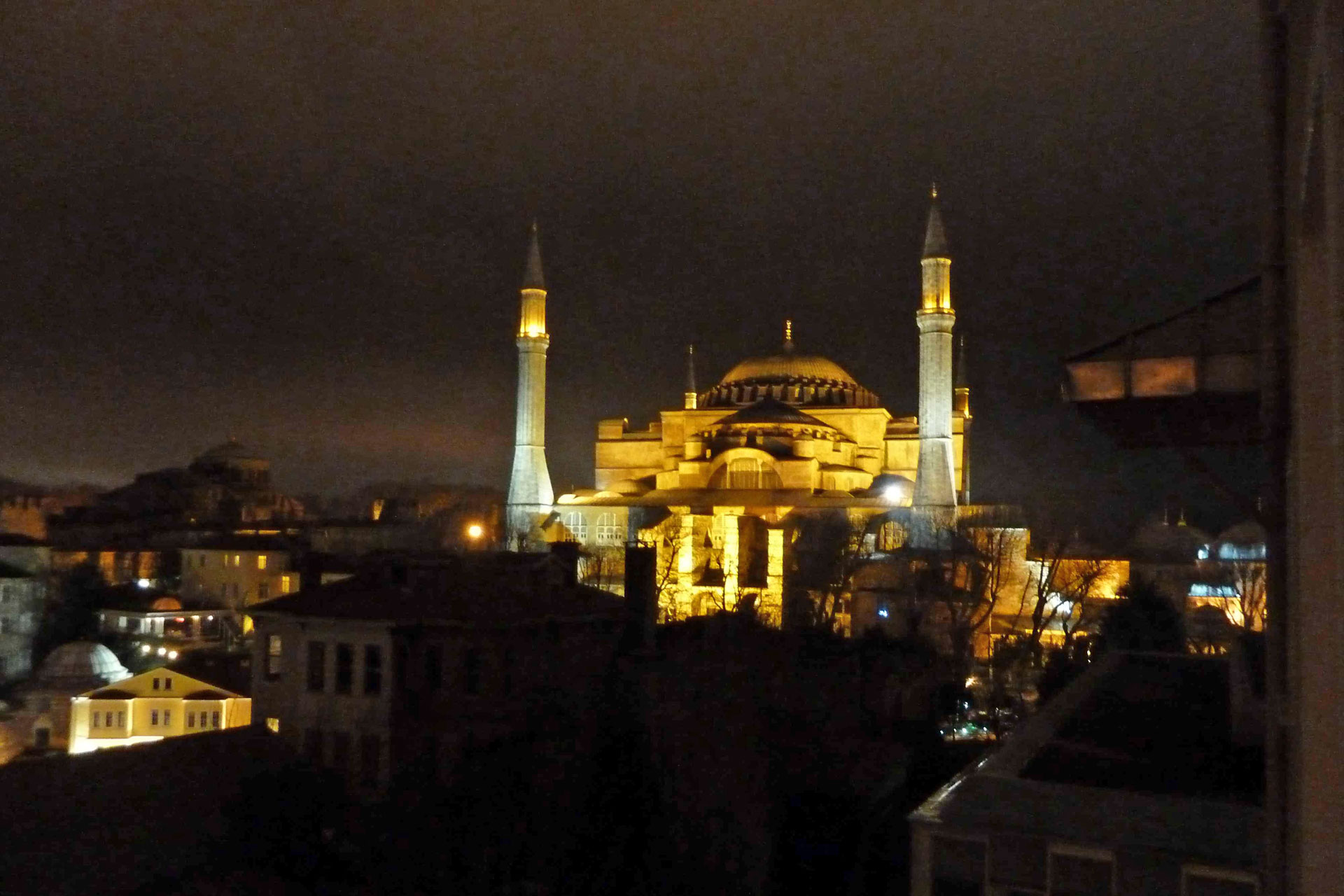 Ankunft in Istanbul
