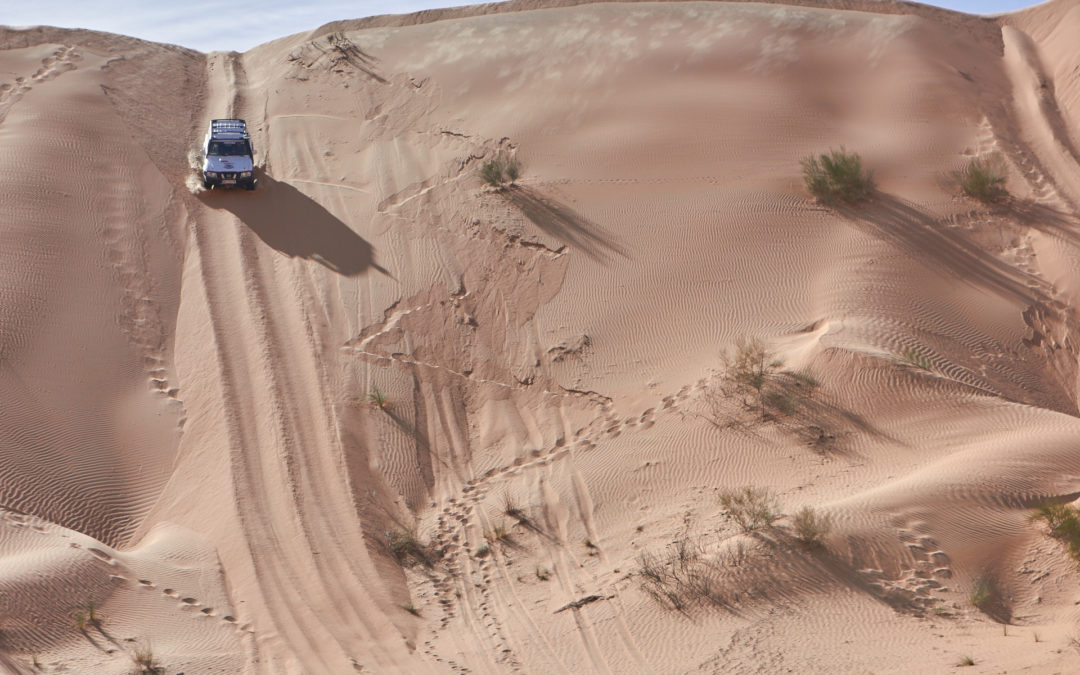 Offroad Training Wüste Tunesien