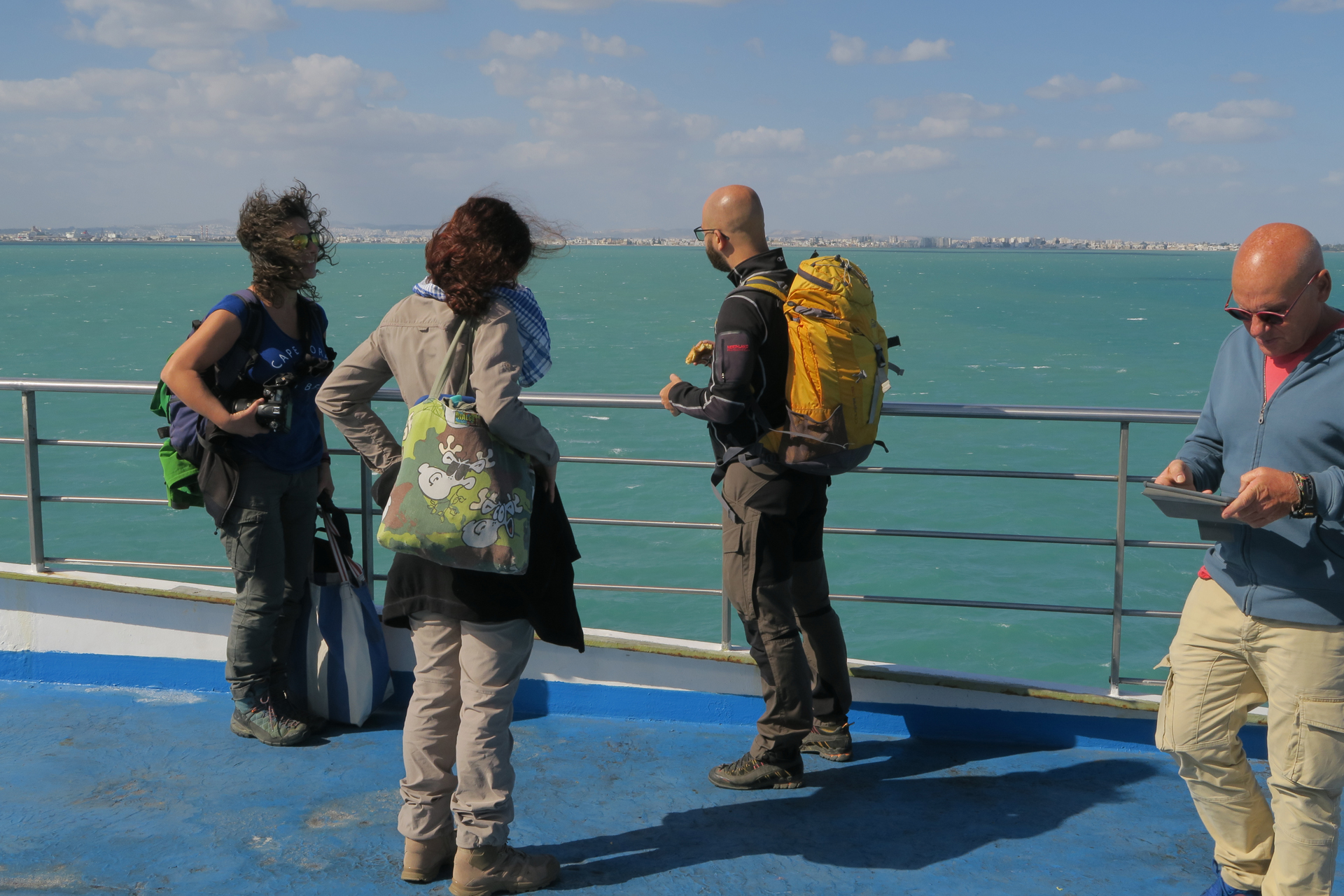 Überfahrt Genua-Tunis