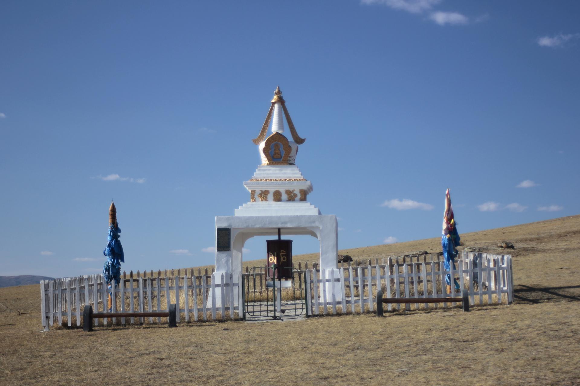Stupa bei Bayantes