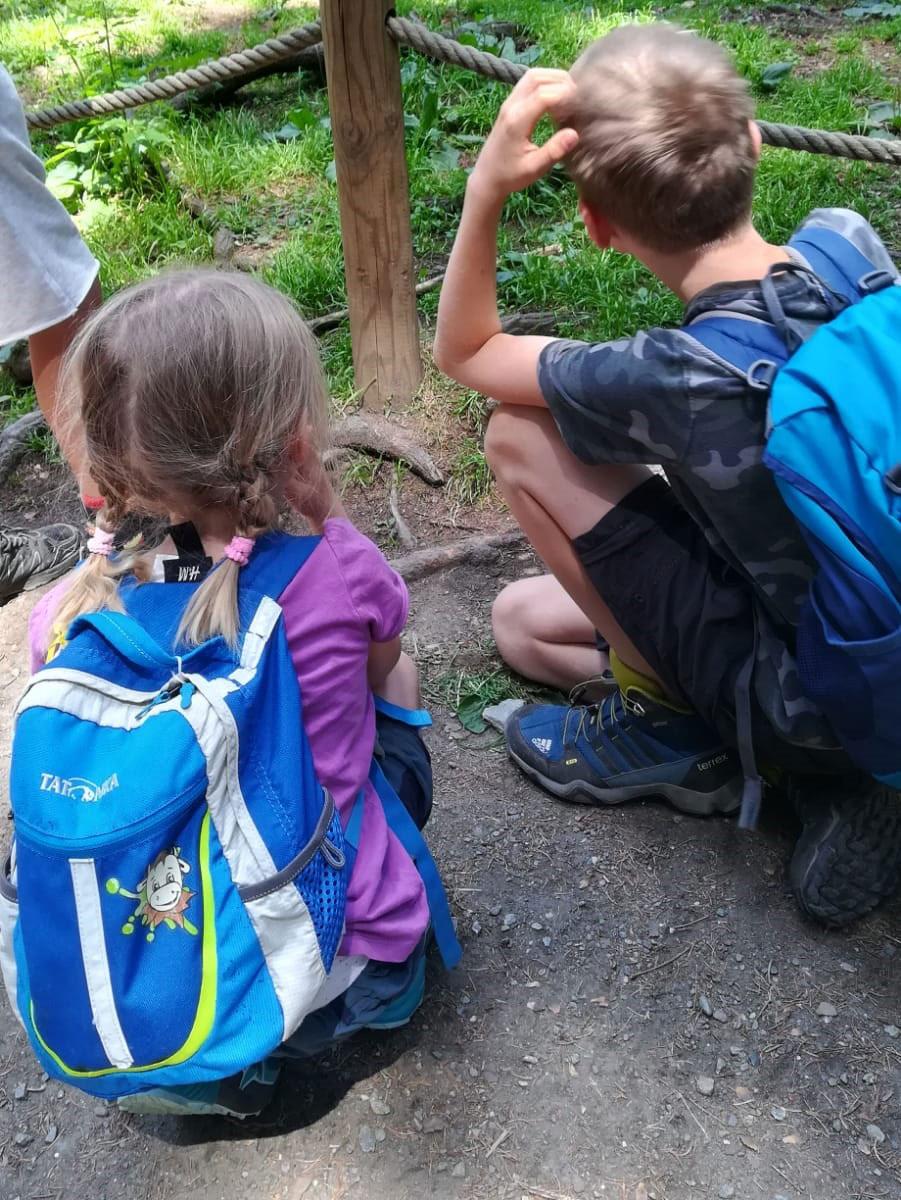 Campingreise mit Rucksack