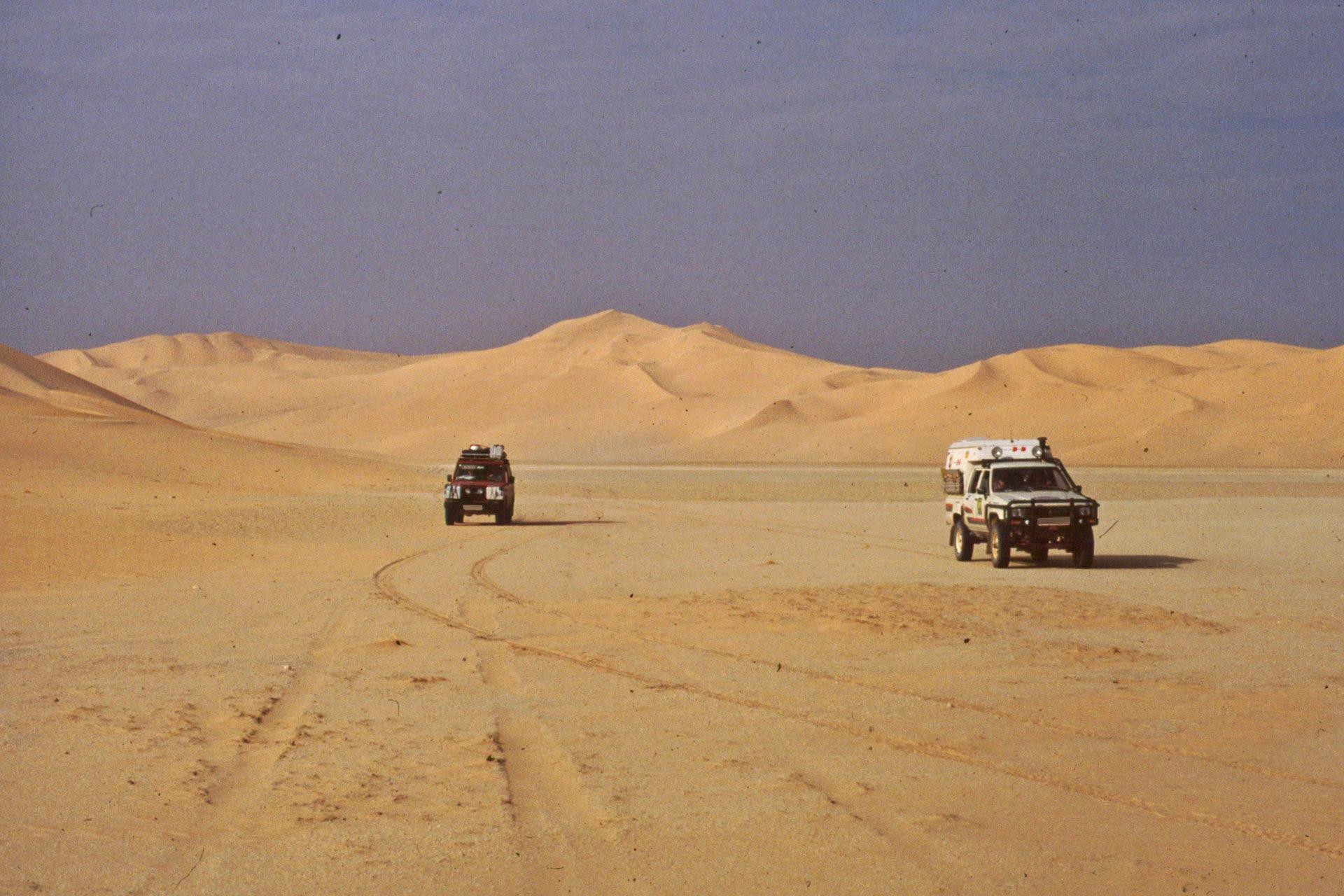 Afrikareise Erg Dadmer