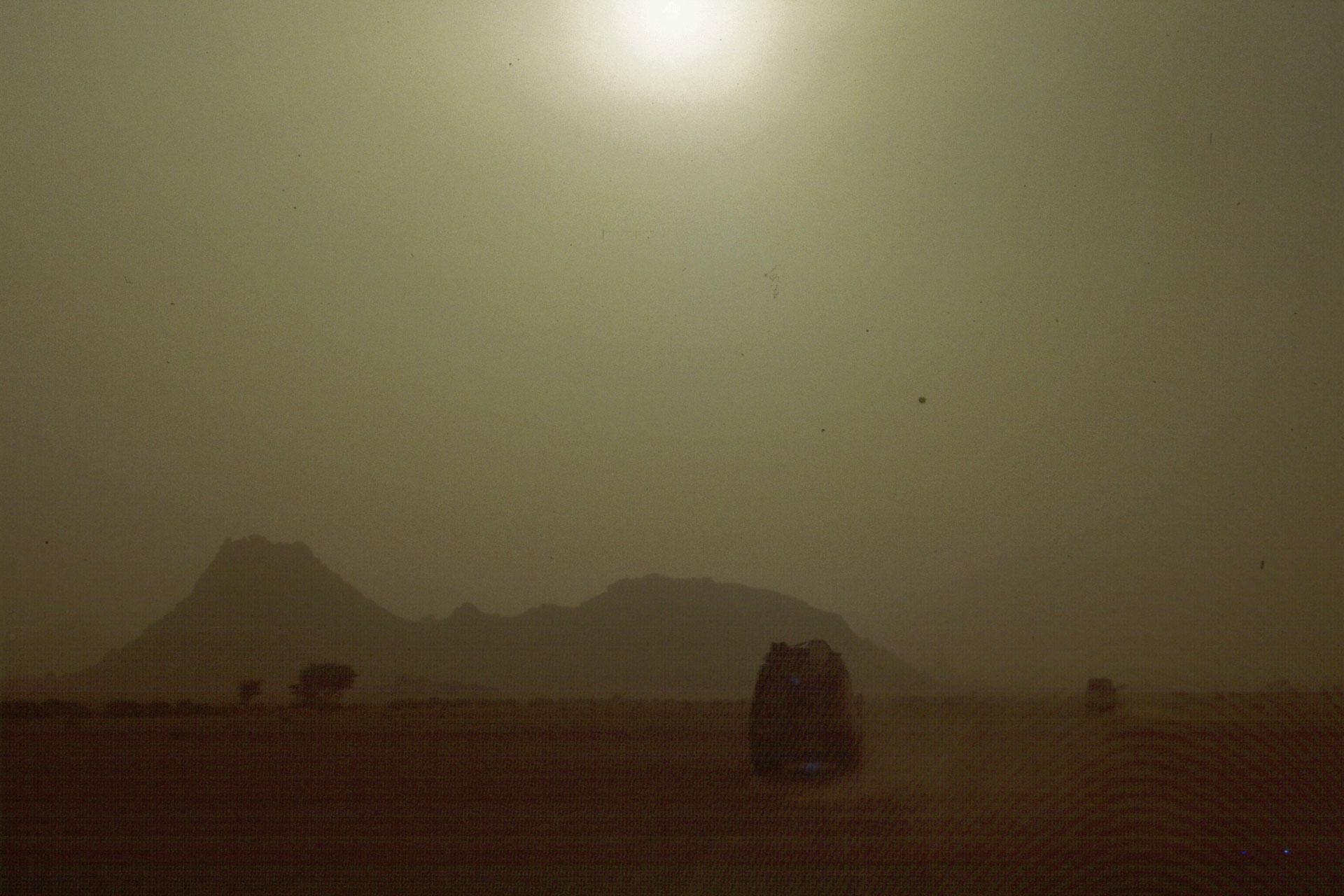 Abenteuerurlaub Sandsturm