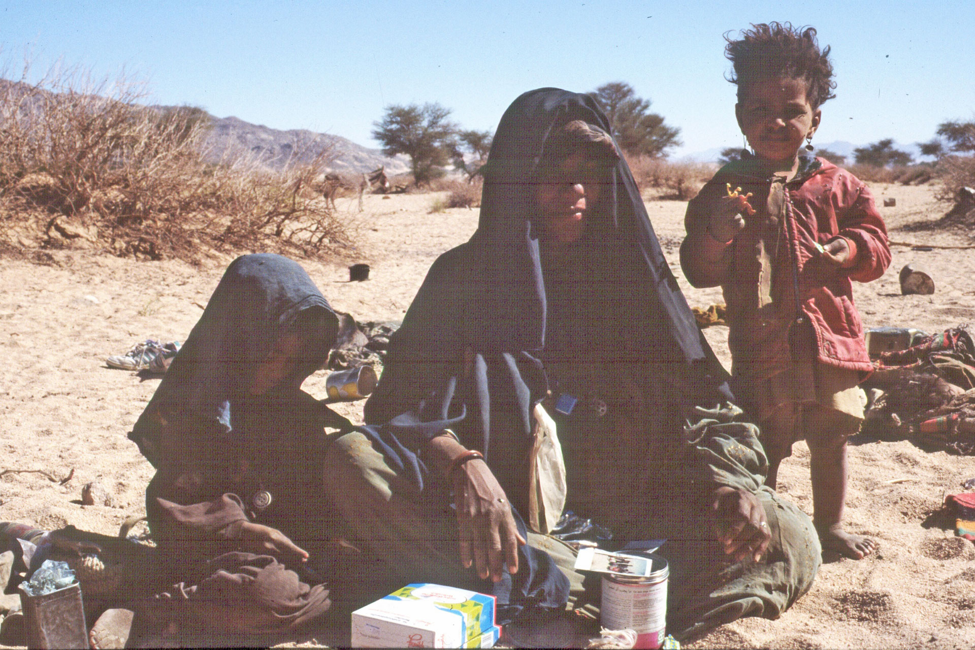 Tuareg Familie