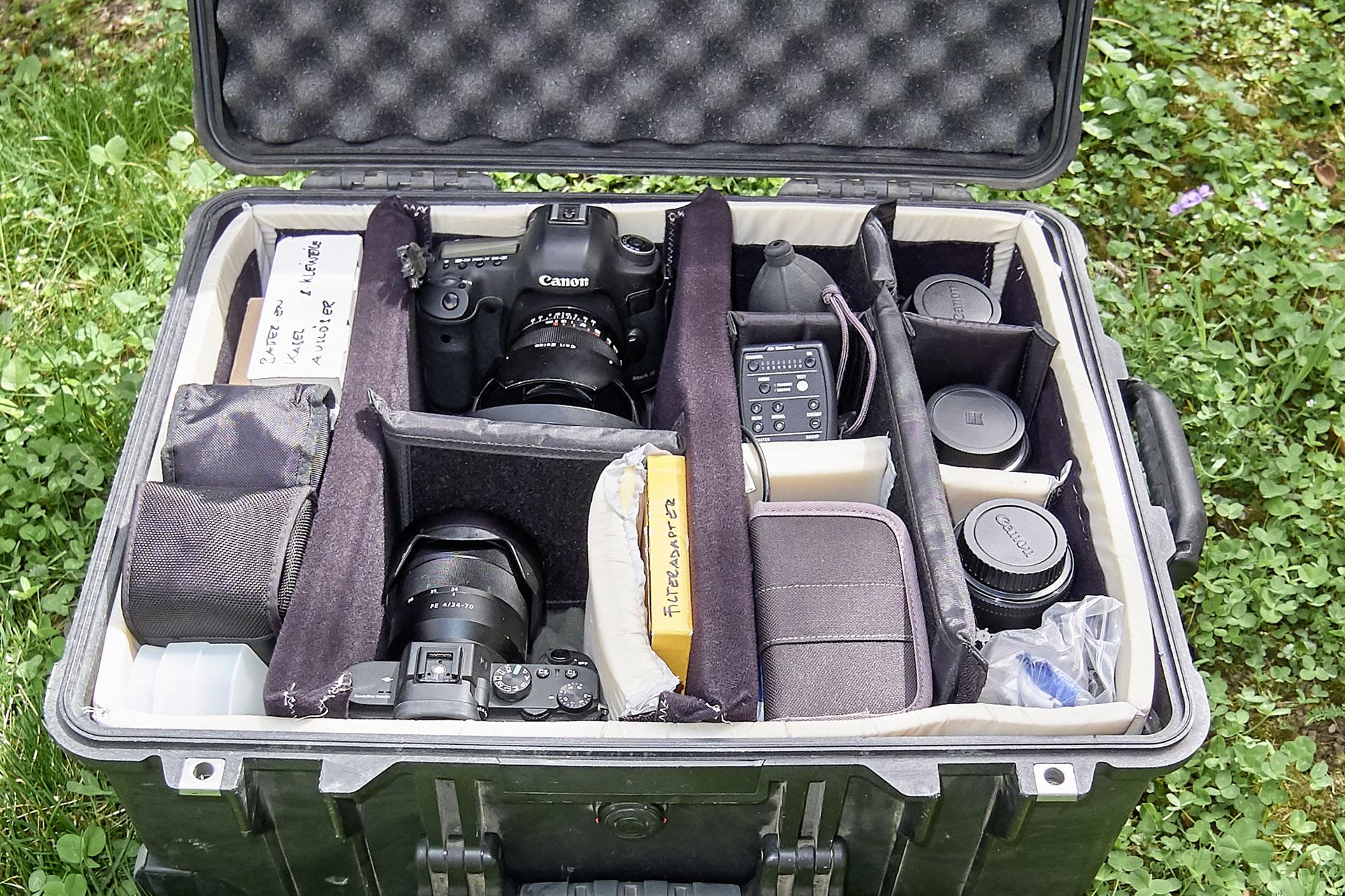 Equipment in Pelibox