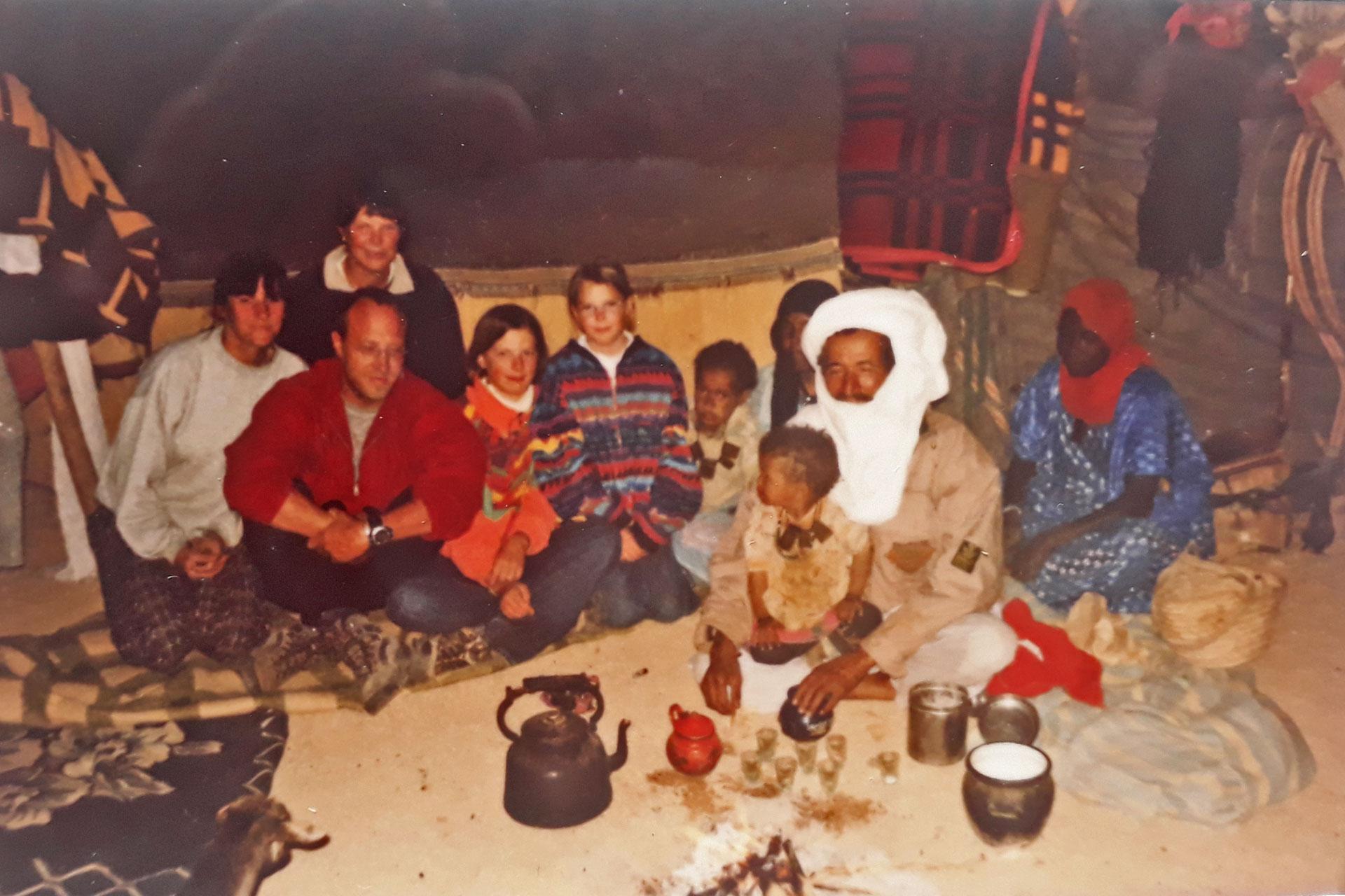 Tuareg-Einladung