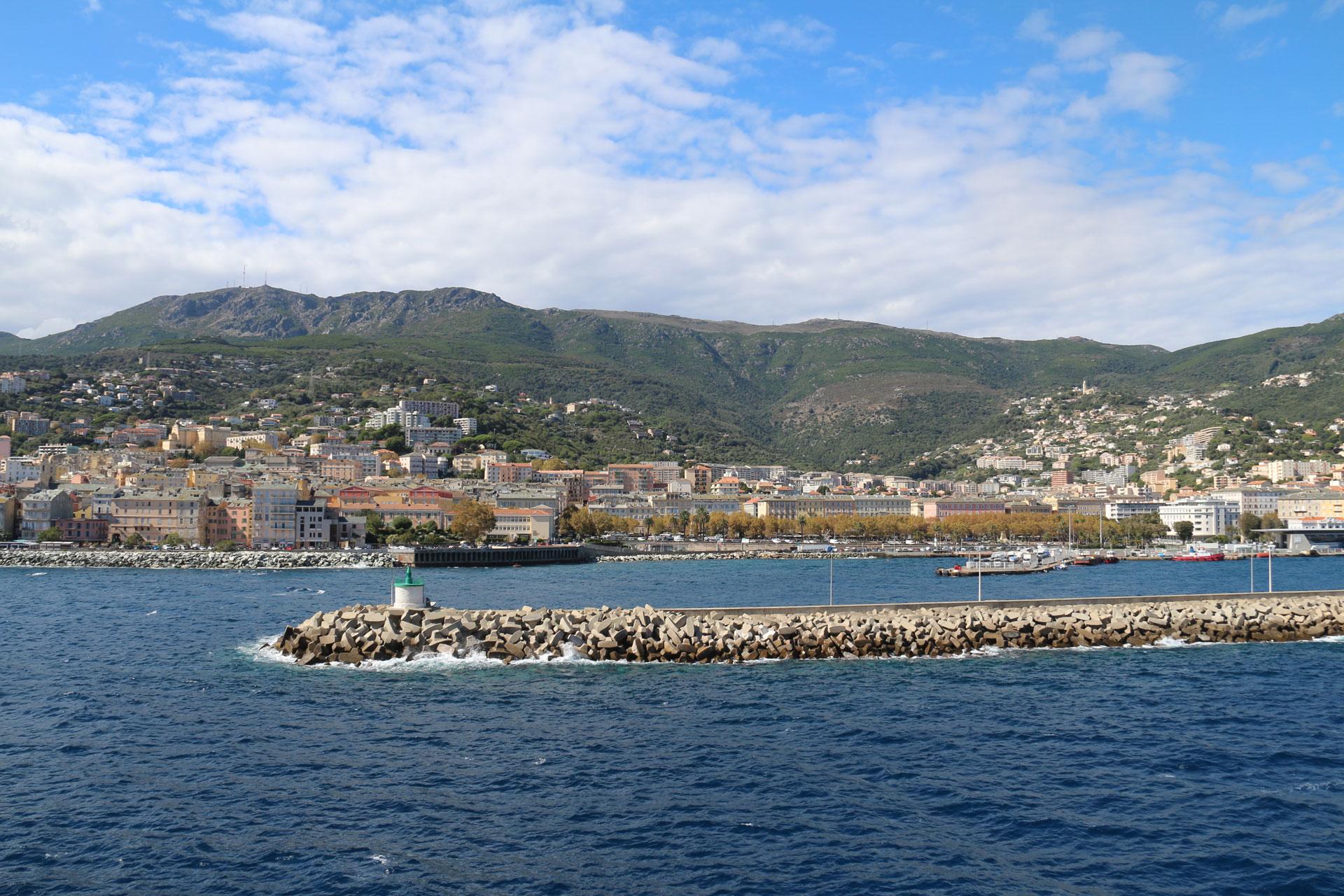 Korsika Überfahrt