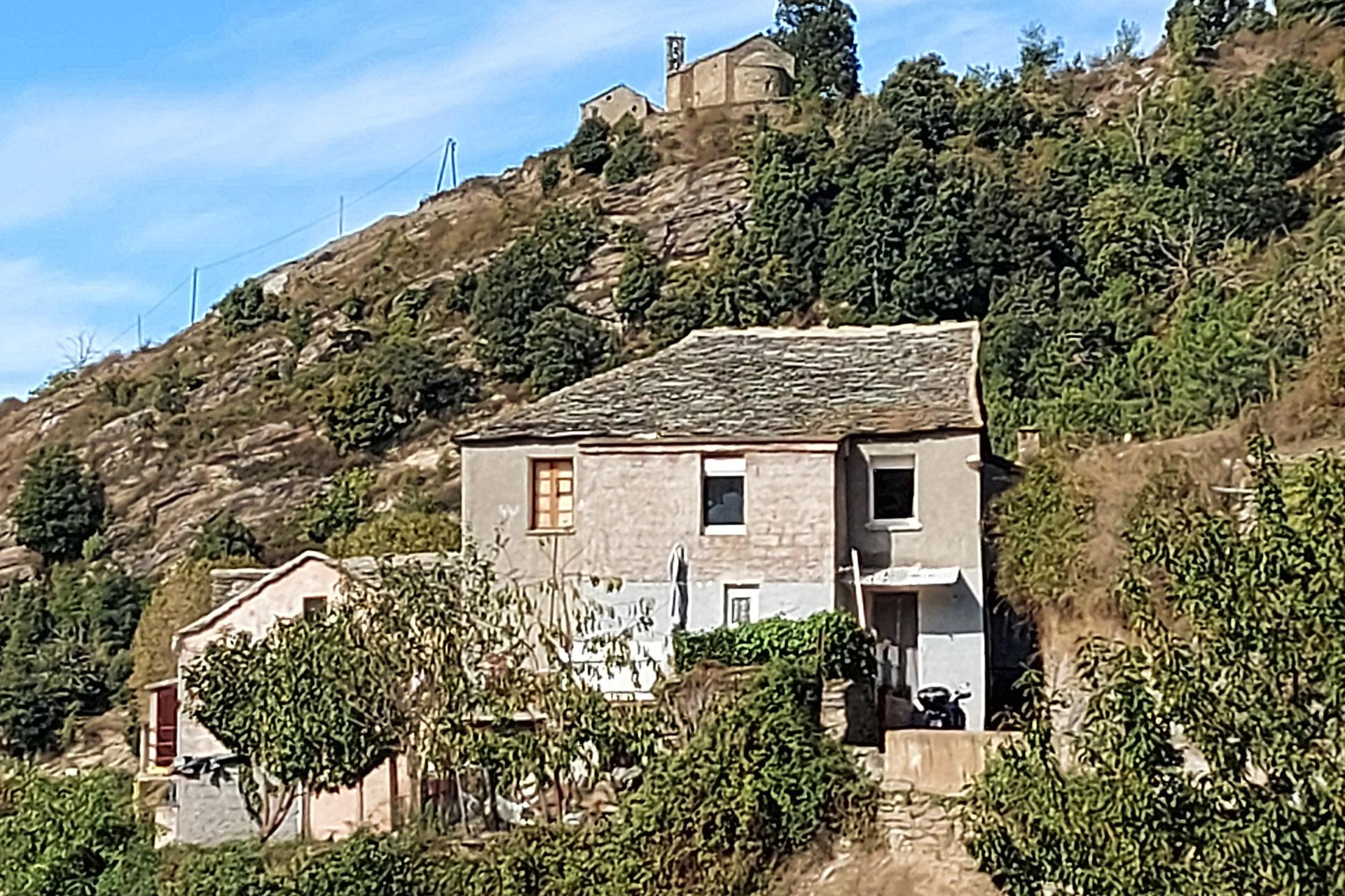 Landschaft Dorf in Korsika