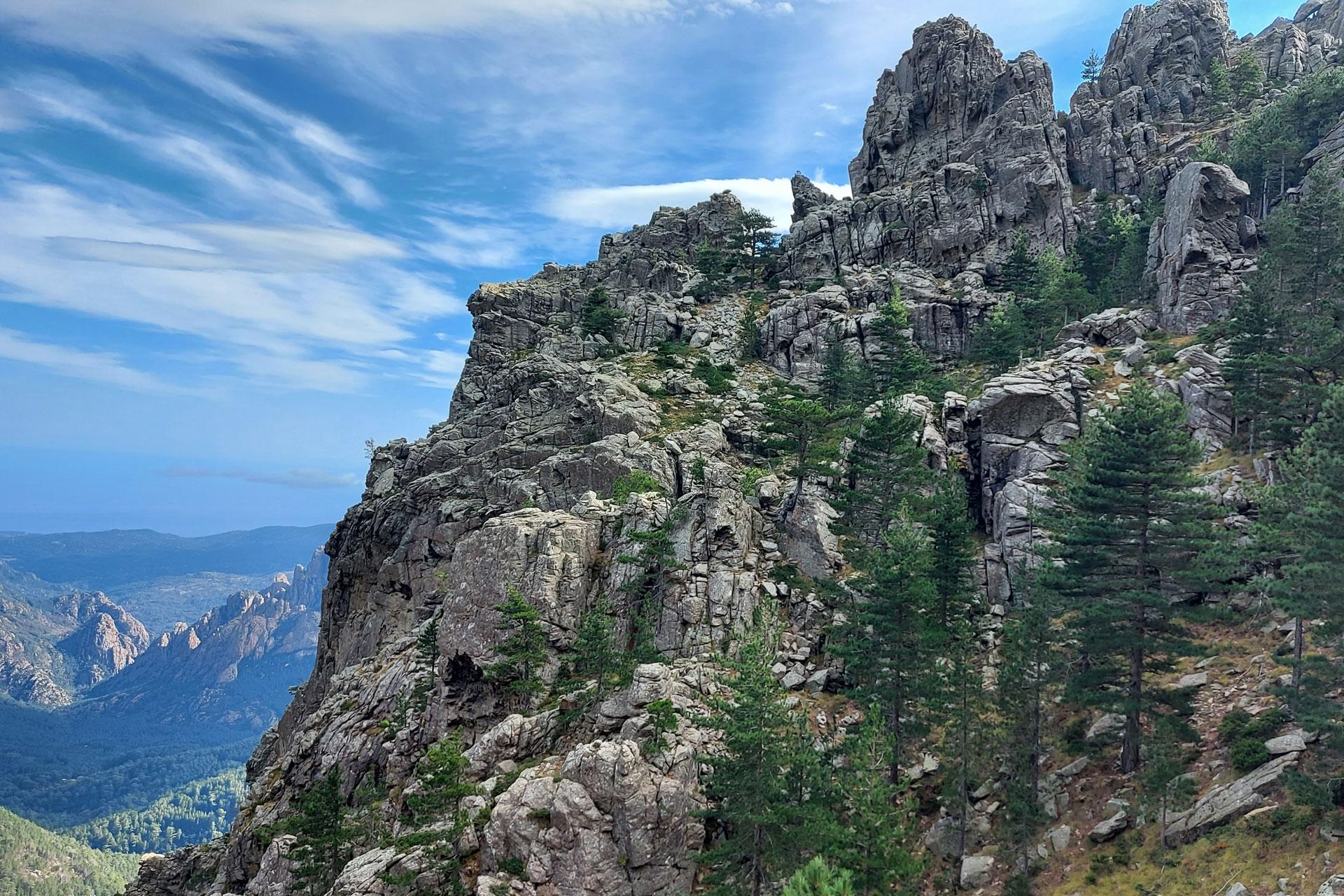 Korsika Col de Bavella Klettersteig
