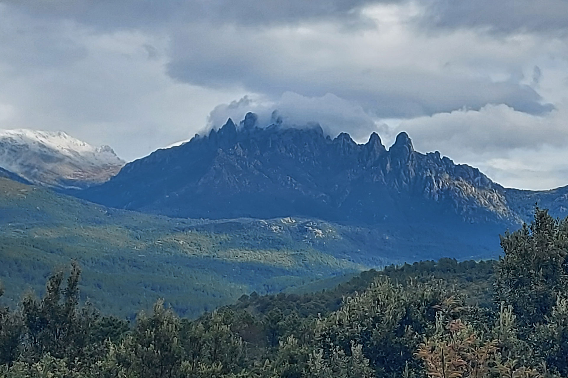 Korsika offroad Hochgebirge