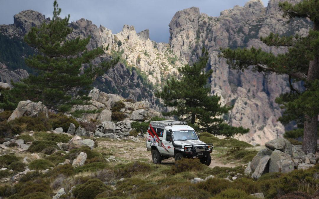 Abenteuerliches Korsika offroad mit Piskorz & Piskorz