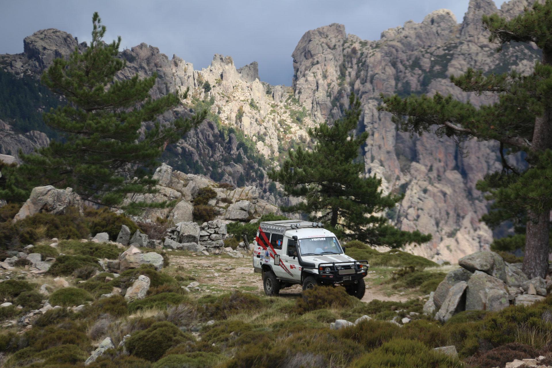 Korsika offroad