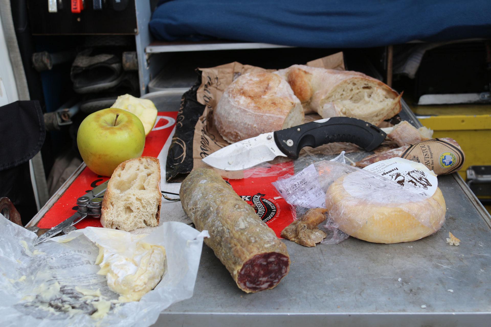 Essen in Korsika Abenteuerreise