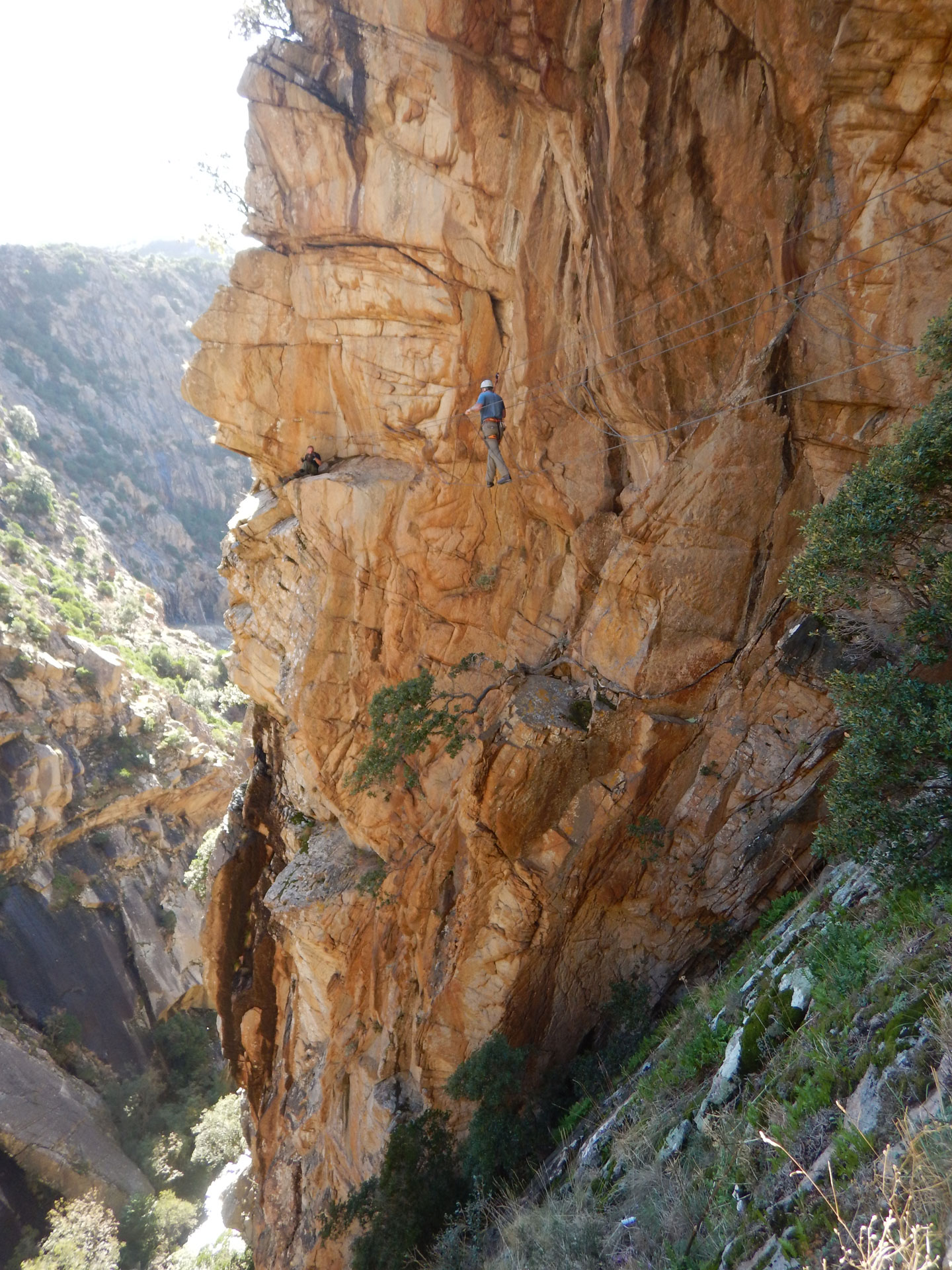 Klettersteig Korsika