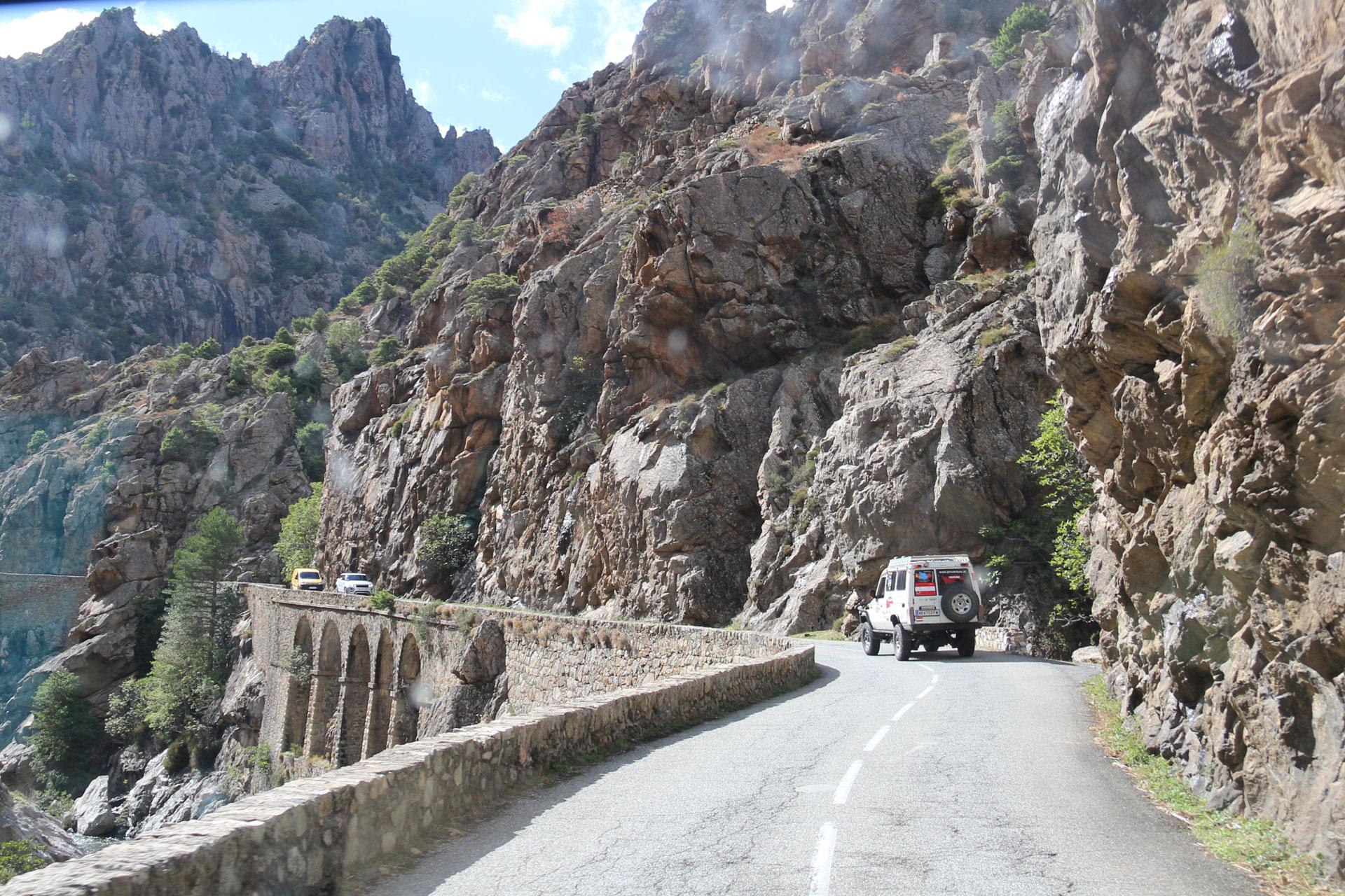 4x4 in Korsika Piskorz